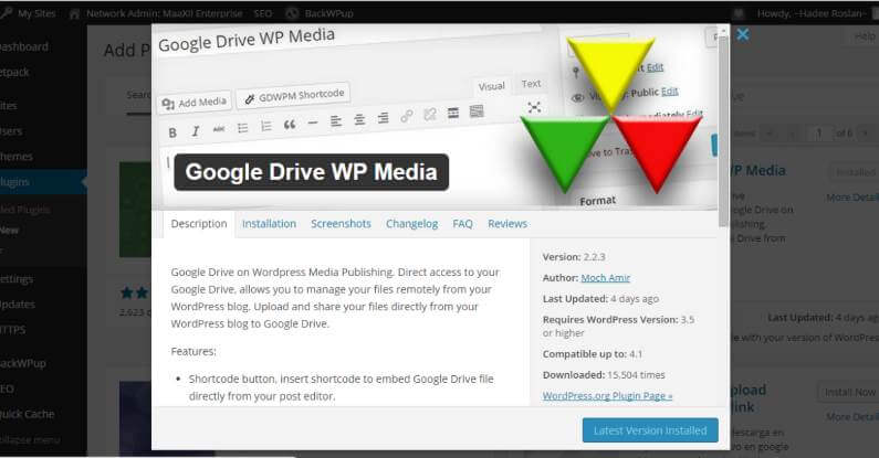 Use Google Drive To Store Website Images For WordPress